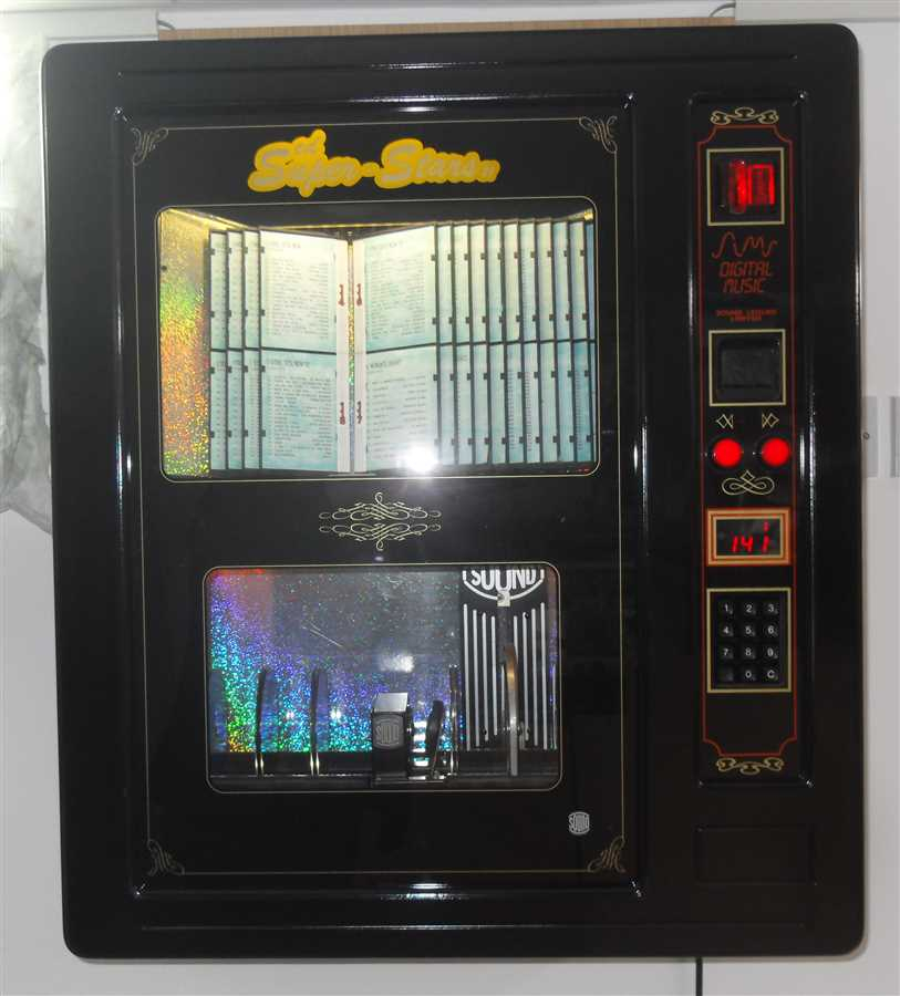 Sound Leisure Super Stars CD Wall Mount Jukebox