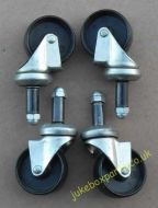 Set of Lightweight Castors (MT04)