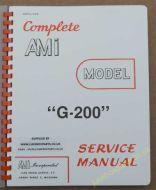 AMI Model G-200 Manual