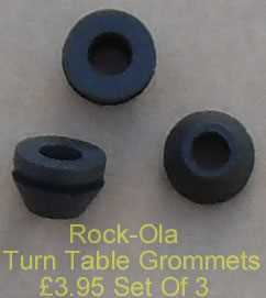Rock-Ola Turn Table Grommets