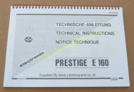 NSM Prestige E160 Manual