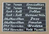 Wurlitzer 2000 Classification Strips (JP659)