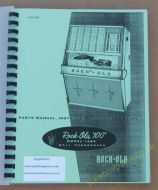 Rock-Ola Wall Box 1484 Parts, Instructions, & Installation Manual