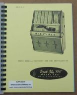 Rock-Ola 403 Instruction, Installation & Parts Manual