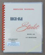 Rock-Ola 429 Starlet Manual (1965)