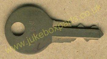 Rock-Ola F593 Cut Key