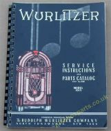 Wurlitzer 1015 Service Instructions & Parts Catalog (USM128)
