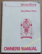 Wurlitzer One More Time - 45RPM Service, Parts & Operating Manual (USM392)
