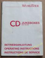 Wurlitzer CD Jukeboxes SCC 40 315 Operating Instructions Manual (USM395)