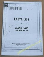 Rock-Ola 1485 Parts List (USM406)