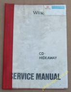Wurlitzer CD Hideaway Service Manual (USM410)