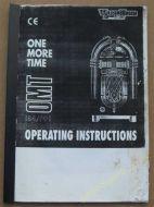 Wurlitzer OMT Operating Instructions Manual (USM61)