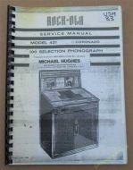 Wurlitzer 2300, 2300S, 2310 & 2310S Service & Parts Manual (USM83)