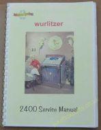 Wurlitzer 2400 Service & Parts Manual (1960) (USM90)