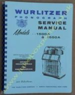 Wurlitzer 1500A & 1550A Sevice & Parts Manual
