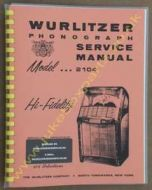Wurlitzer 2104 Service & Parts Manual (1957)