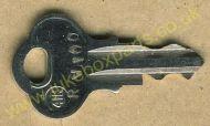 Wurlitzer Non-Original RW100 Cut Key
