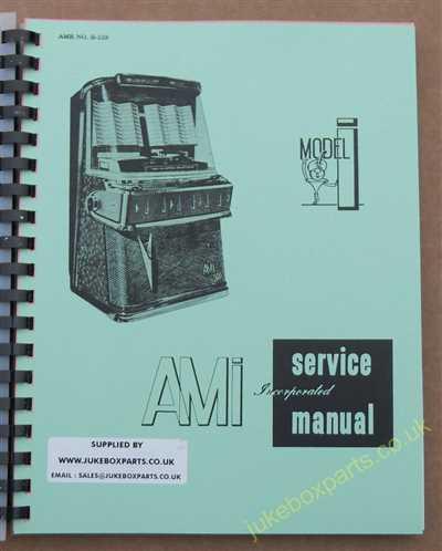 Rowe Model rb8 manual