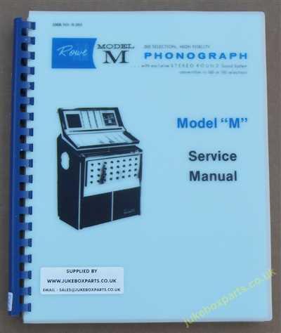 Field service Manual Rowe Ami